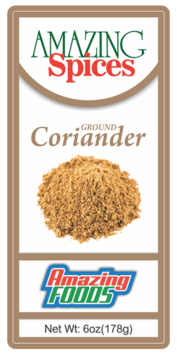 Ground Coriander, 6oz(178g)