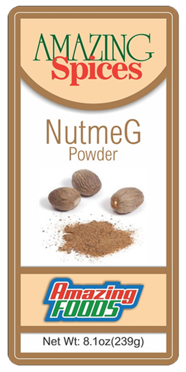 Ground Nutmeg 8.1oz(239g)