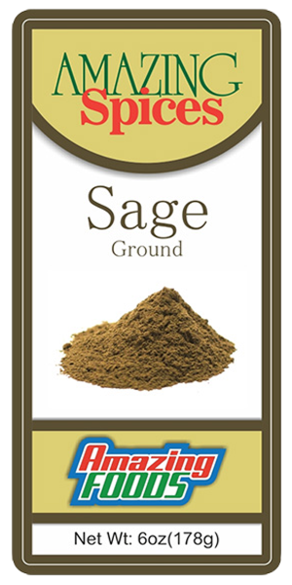 Ground Sage, 6oz(178g)