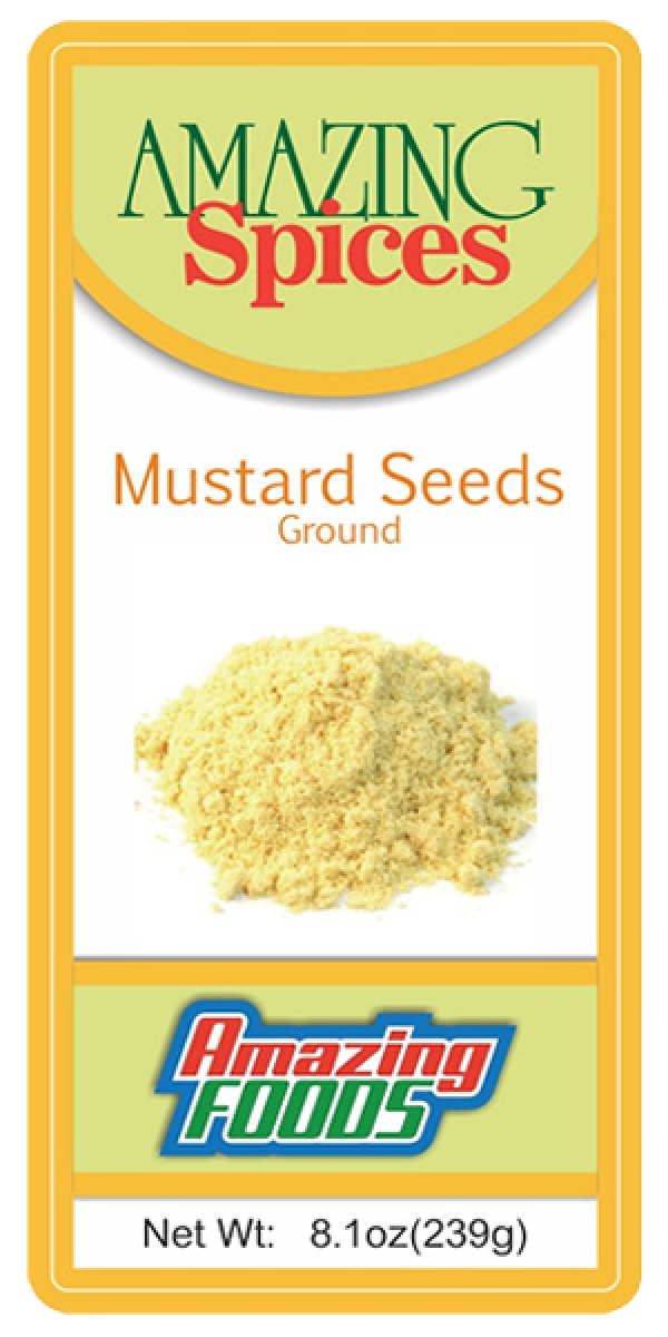 Mustard Seeds, 8.1oz(239g)