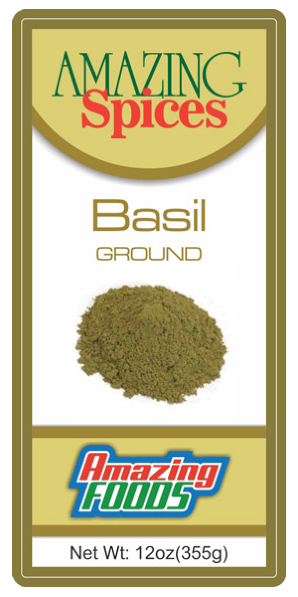 Ground Basil, 12oz(355g)