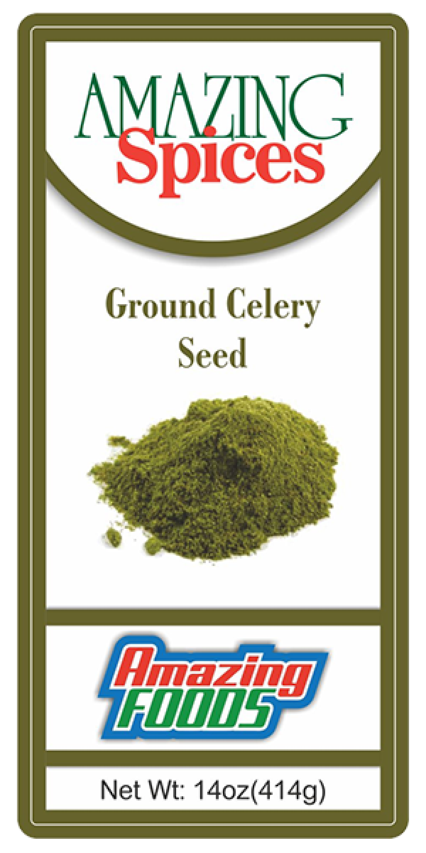 Ground Celery Seed, 14oz(414g)