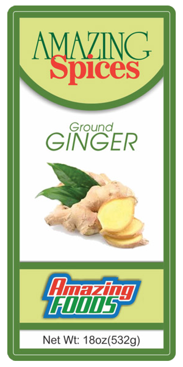 Ground Ginger, 18oz(533g)
