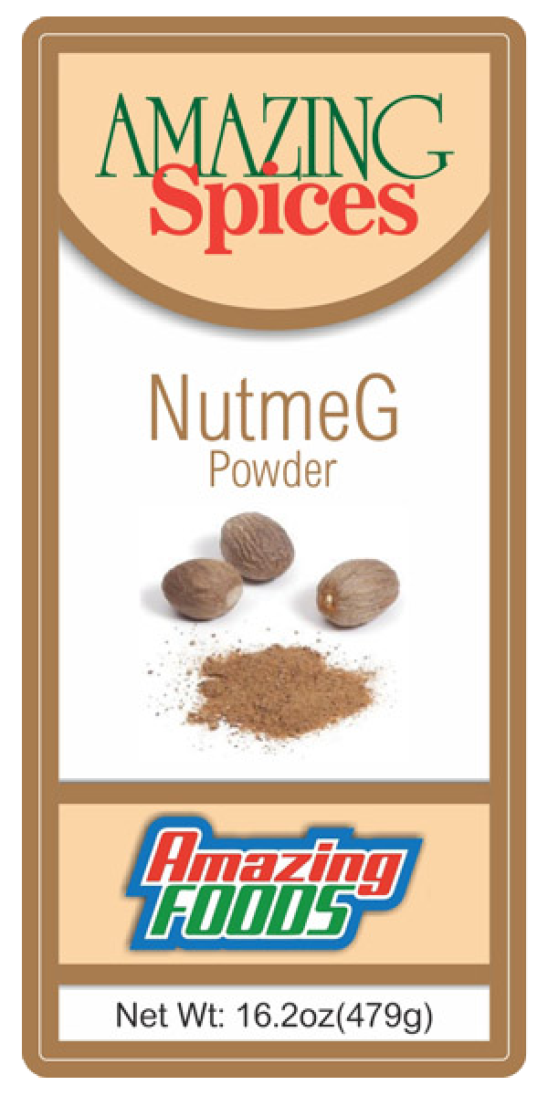 Ground Nutmeg, 16.2oz(184g)