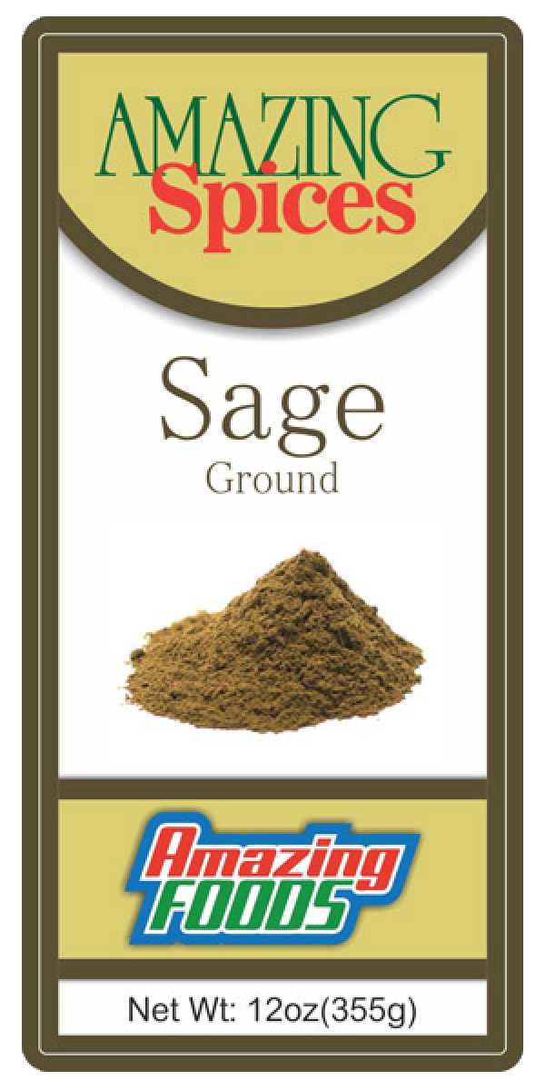 Ground Sage, 12oz(355g)