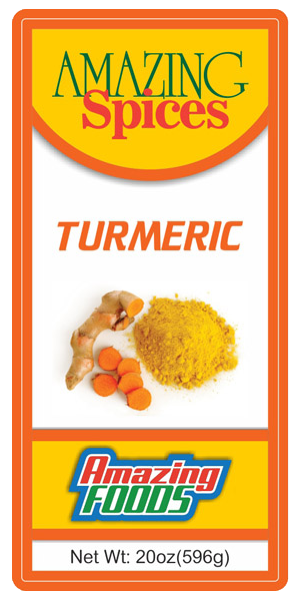 Ground Turmeric, 20oz(592g)