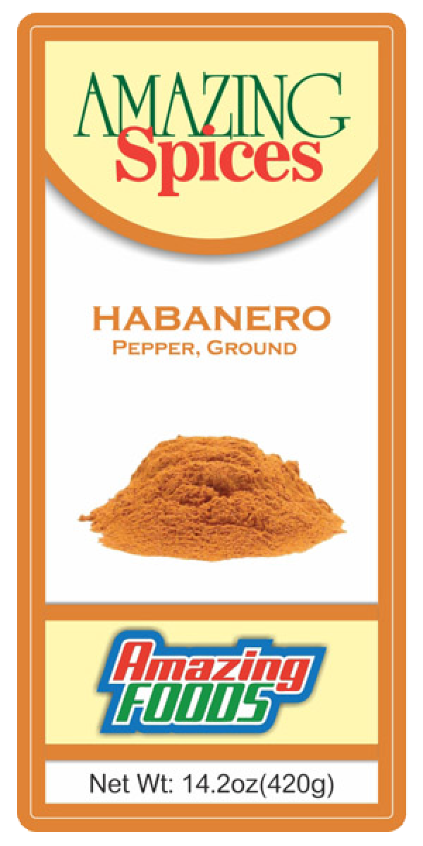 Habanero Pepper, Ground  14.2oz(420g)