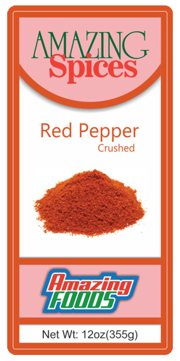Red Pepper, Crushed    12oz(355g)