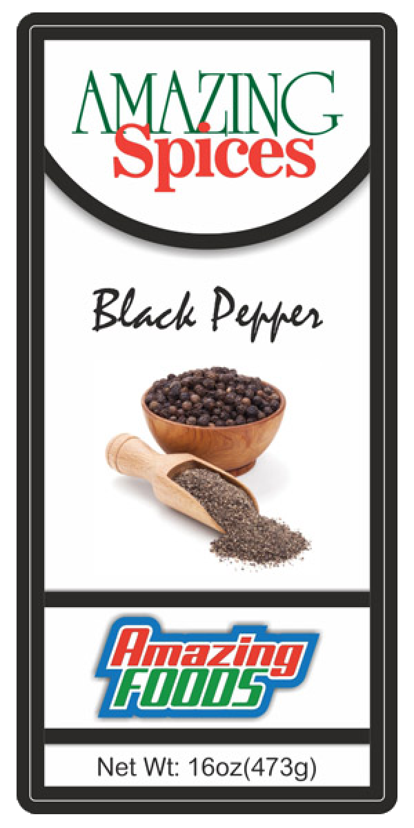 Black Pepper, 16oz(473g)