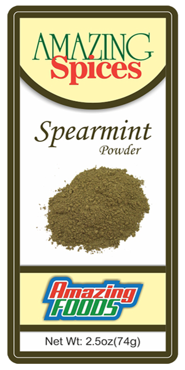 Spearmint Powder, 2.5oz(74g)