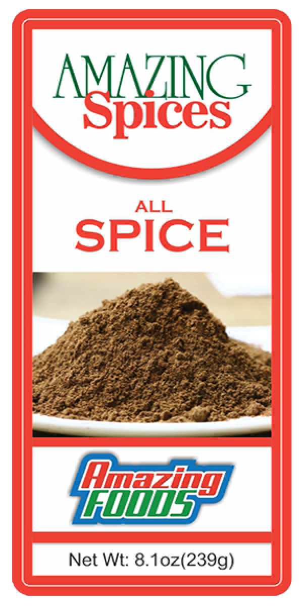 All Spice, Ground    16.2oz(479g)