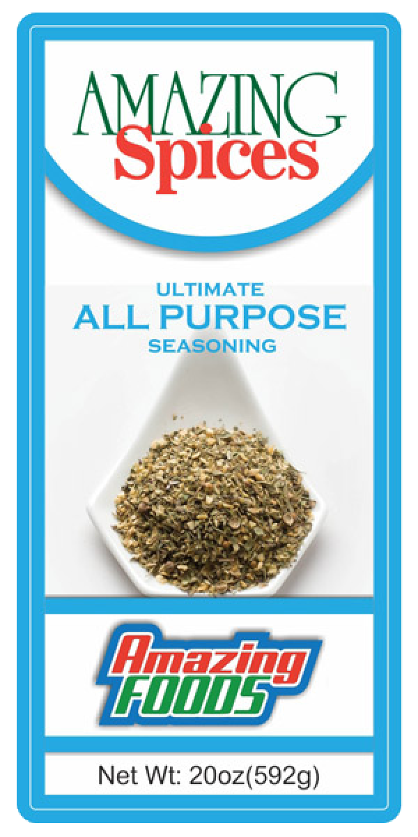 Ultimate  All Purpose Seasoning, 20oz(592g)