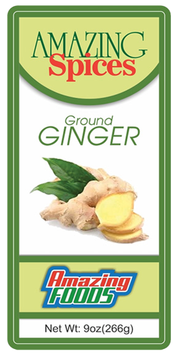 Ground Ginger, 9oz(266g)