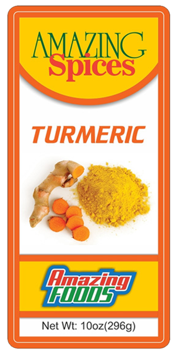 Ground Turmeric, 10oz(296g)