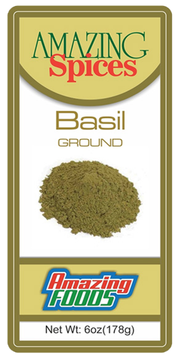 Ground Basil, 6oz(178g)