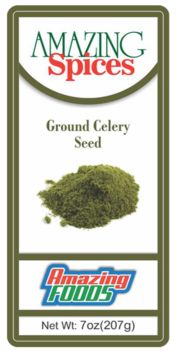 Ground Celery Seed, 8oz(237g)
